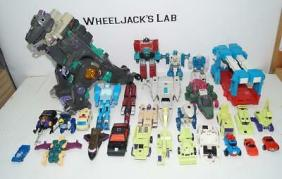 Lot-Collection-of-Vintage-Hasbro-dgryjhtujG1-Transformers-Toys